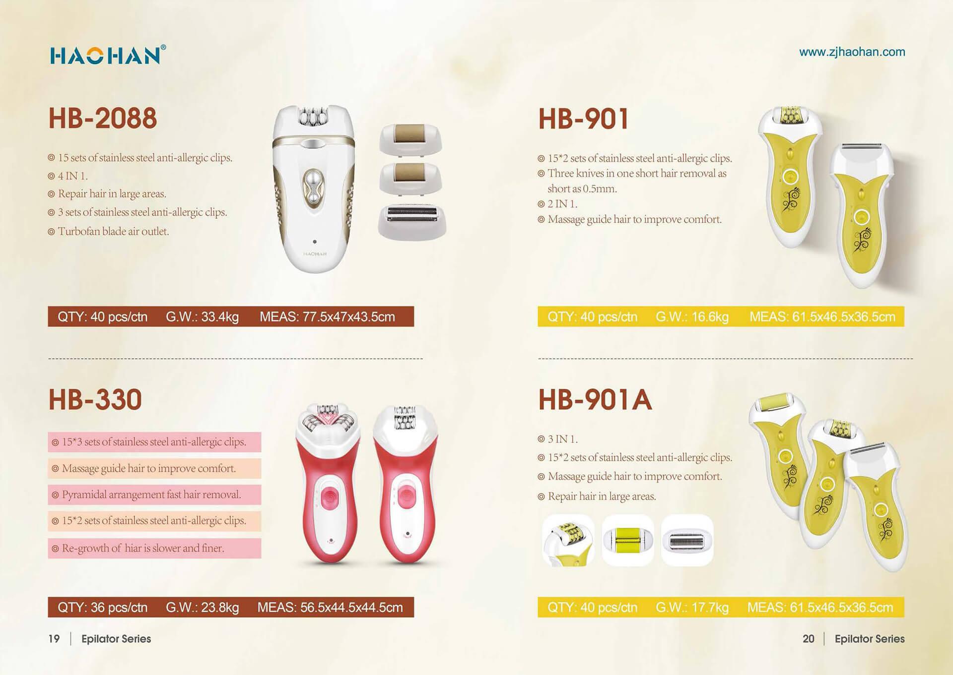 1631849305 Electric Epilator 8 Zhejiang Haohan