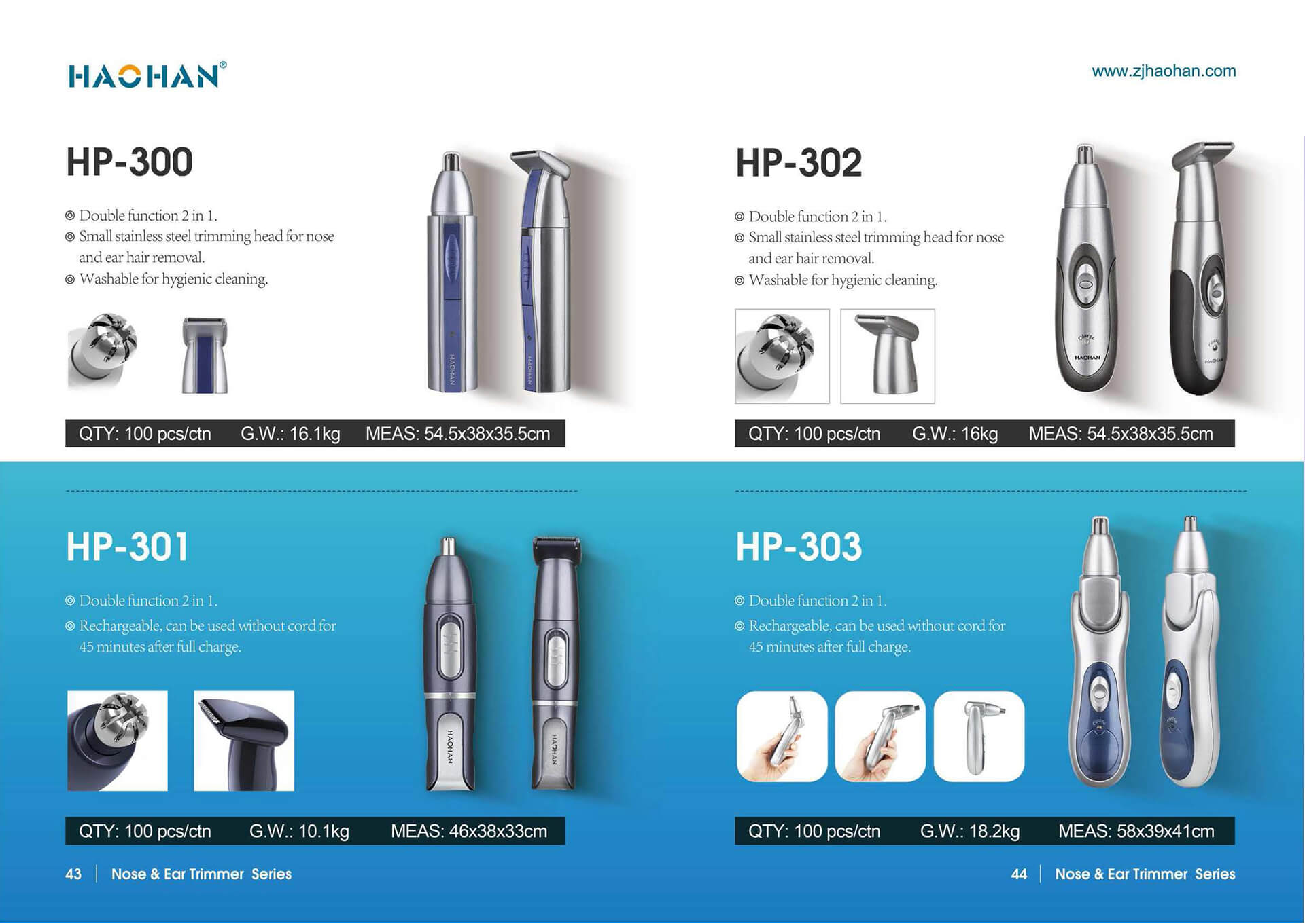 1631855198 Electric Nose Ear Trimmer 2 Zhejiang Haohan